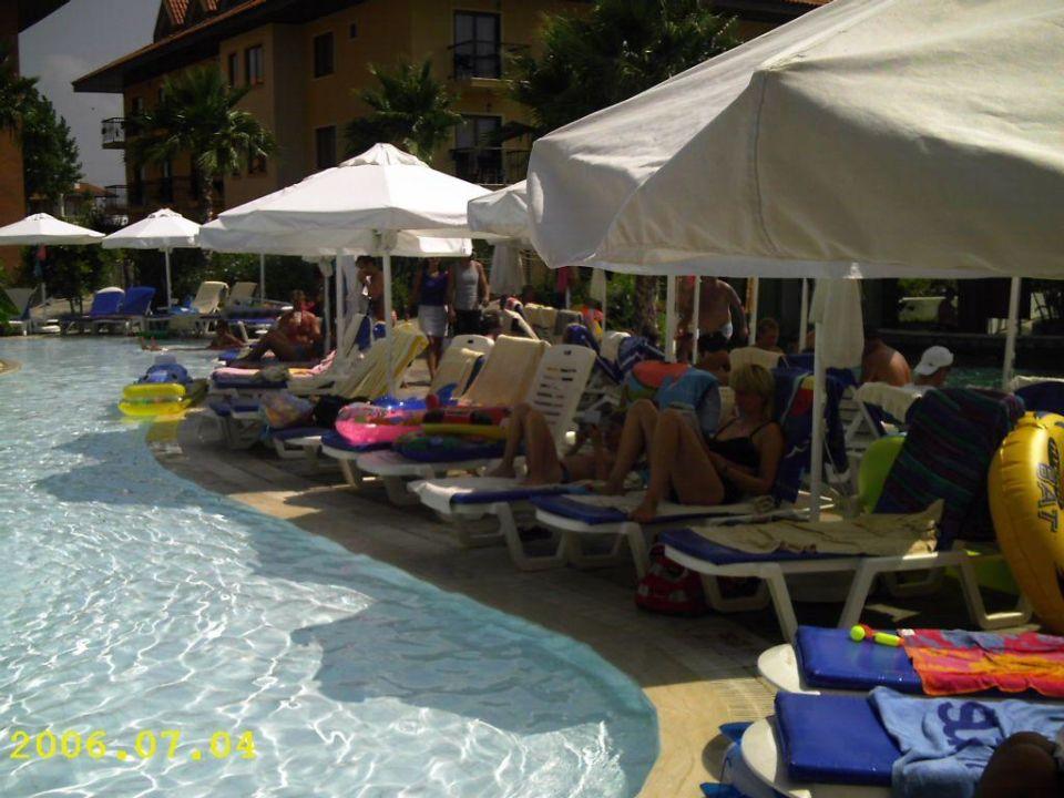 Poolbereich Club Grand Aqua