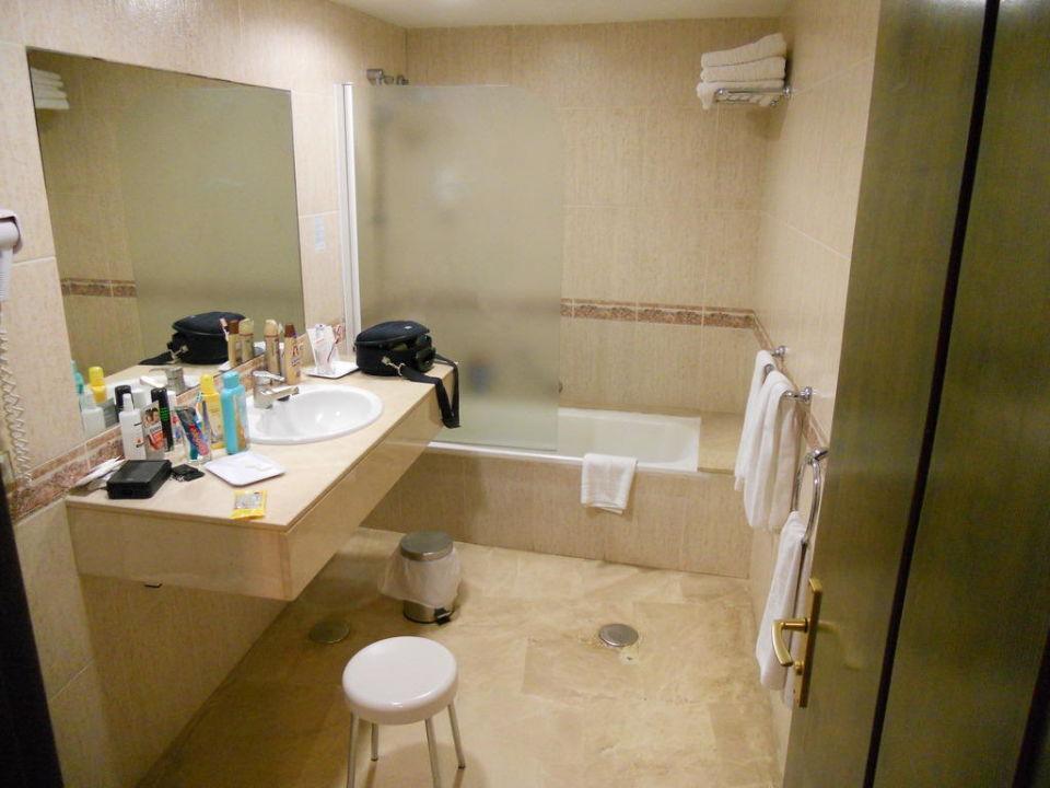 Badezimmer der Suite Dunas Suites&Villas Resort