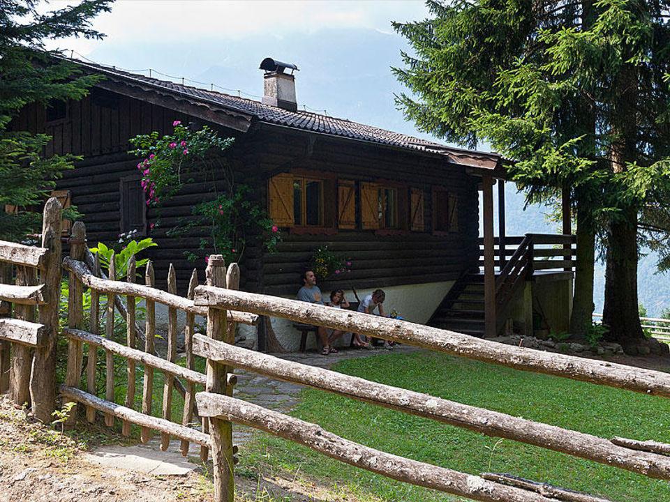 Die Hausansicht Gramegger Hütte