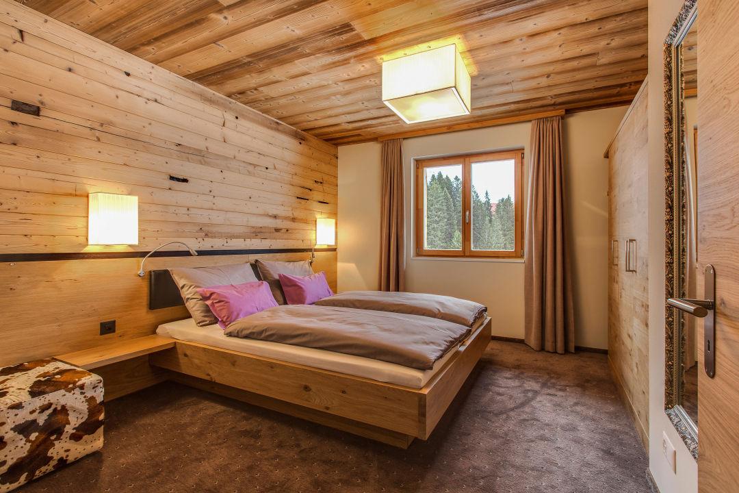 Schlafzimmer Chalet-appartement Deluxe
