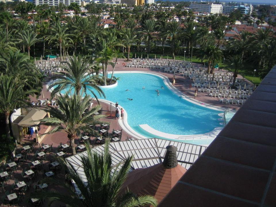 Pool und Gartenanlage Hotel Riu Papayas  (Vorgänger-Hotel – existiert nicht mehr)