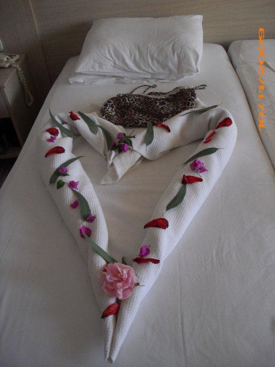 Bett-Dekoration Hotel Süral Saray