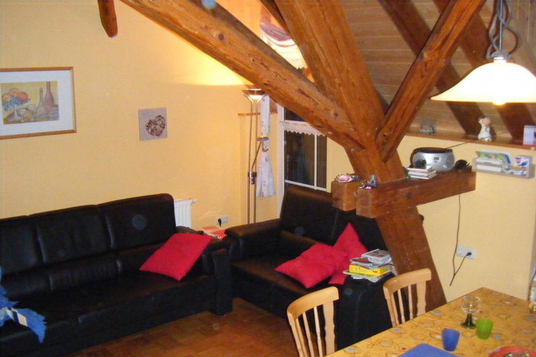 Wohnraum Ferienhof Eulennest