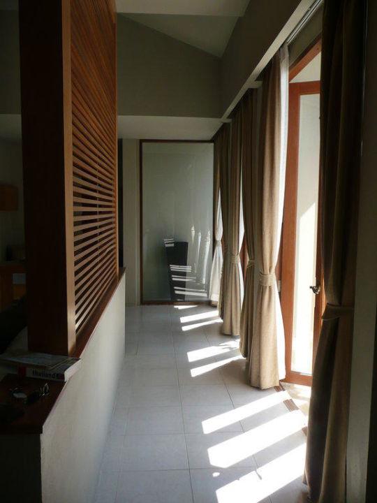 Im Zimmer hinterm Bett Hotel AKA Resort Hua Hin