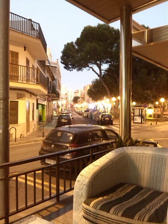 Goldener Oktoberabend Hotel Playas Arenal  (Vorgänger-Hotel – existiert nicht mehr)