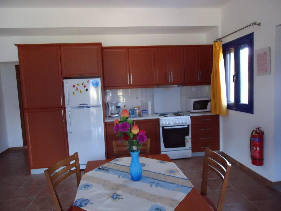 Küche/Wohnraum App. Apartments Liofito