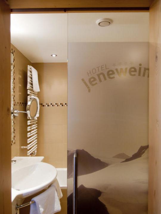 Badezimmer Hotel Jenewein