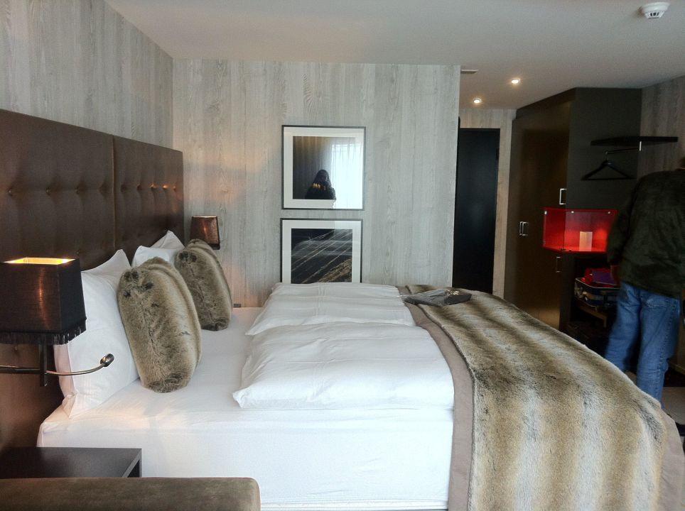 Schönes bad und dusche grischa das hotel davos
