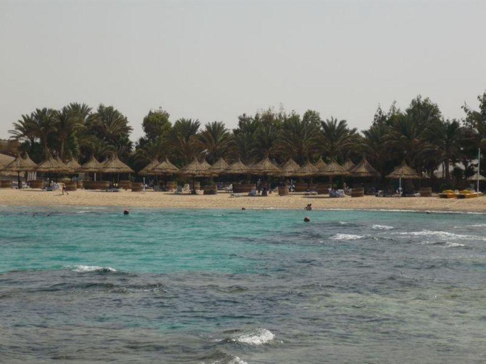 Strandbereich Mövenpick Resort El Quseir