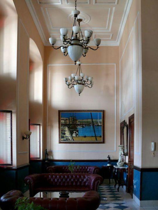 Entrée Hotel Armadores de Santander