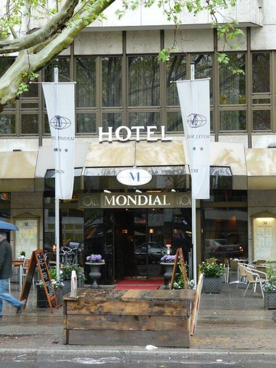 Der Eingang Hotel Mondial Am Kurfurstendamm Berlin Charlottenburg