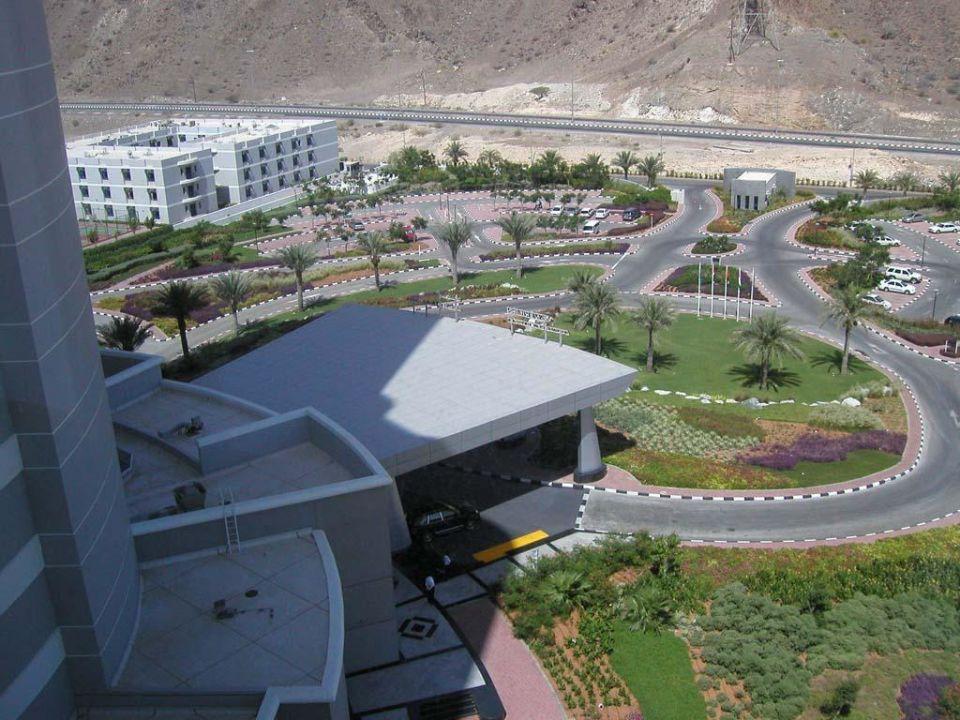 Meridien Al Aqua Eingang Hotel Le Meridien Al Aqah Beach Resort