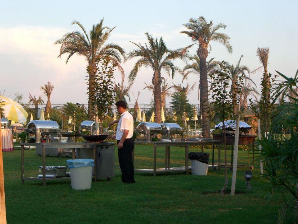 Vor dem Galadiner Trendy Aspendos Beach Hotel
