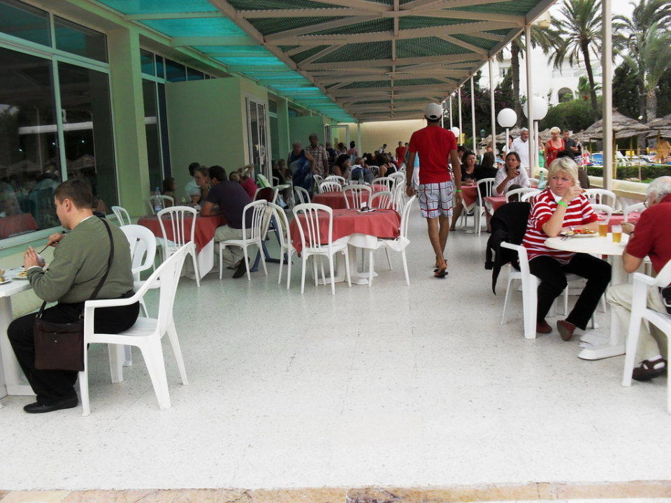 Restaurant extérieur Hotel Houda Golf & Beach Club