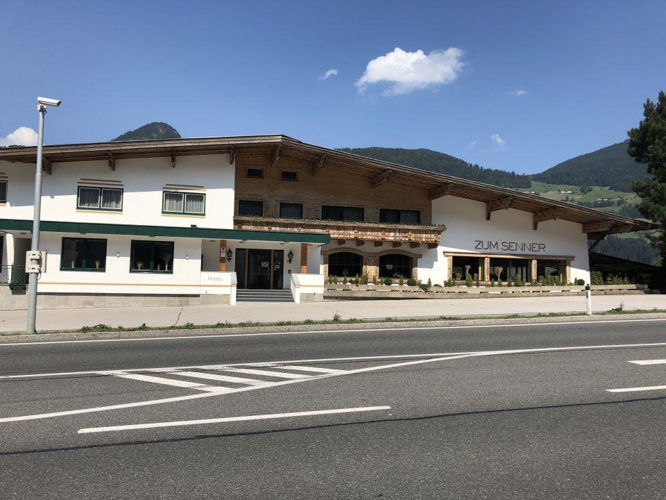 Außenansicht Hotel Zum Senner Zillertal - Adults only