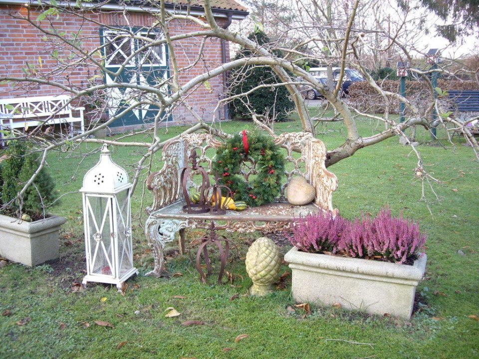 Arrangement im Garten Ringhotel Friederikenhof