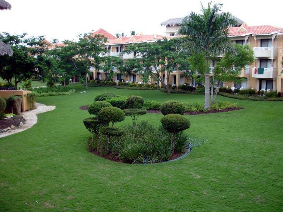 Gartenanlage vom Zimmer aus Hotel Viva Wyndham Dominicus Palace