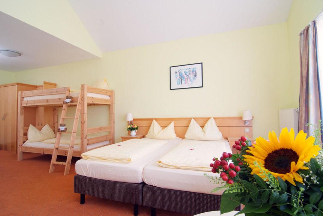 Vierbettzimmer/Familienzimmer Hotel Nummerhof