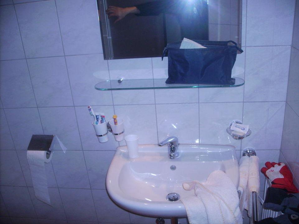 Badezimmer / Waschbecken Clubhotel Edelweiss