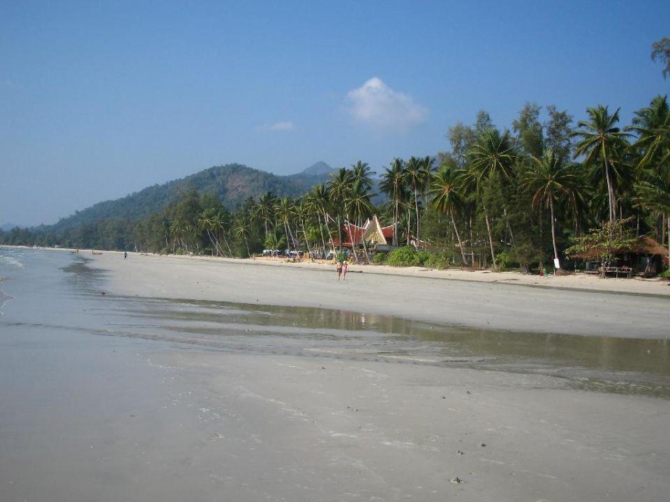 Bei Ebbe ist viel Platz! Santhiya Tree Koh Chang Resort