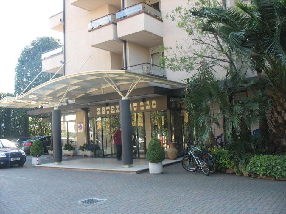 Eingang Hotel Du Lac et Bellevue
