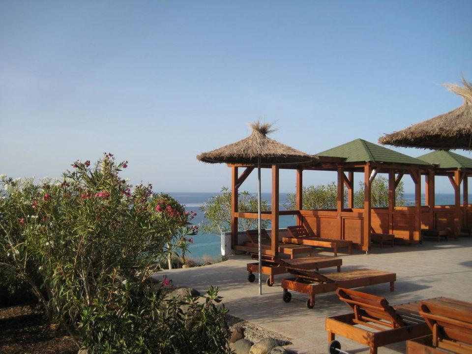 Blick von der Restaurant-Terrasse auf den Atlantik Monte Marina Naturist Resort