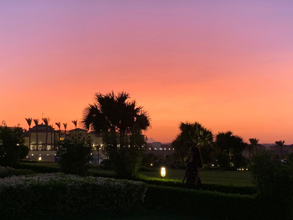 Ausblick Cleopatra Luxury Resort Makadi Bay