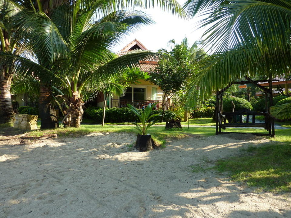 Beach Bungalow direkt am Strand Hotel Koh Chang Paradise Resort