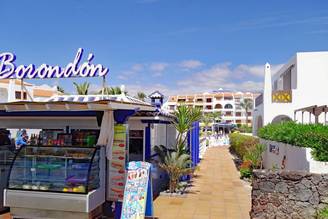 Bild eingang zum hotel zu apartamentos parque santiago 3 in playa de las americas - Apartamentos parque santiago ...