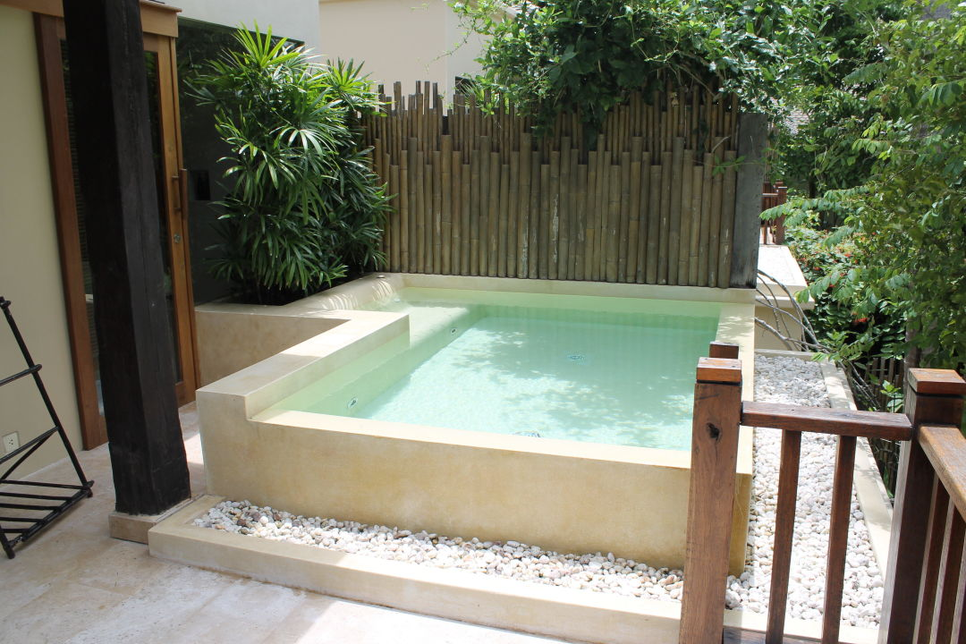 Eigener Whirlpool Auf Der Terrasse Anantara Rasananda Koh Phangan