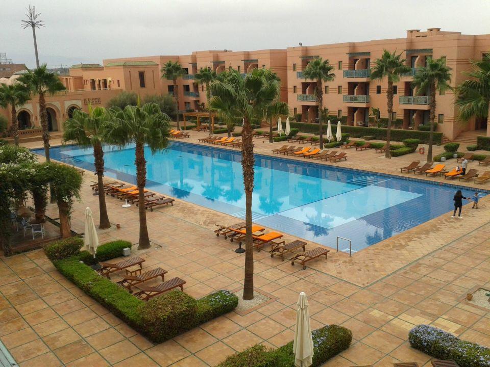 Innenhof mit pool les jardins de l 39 agdal hotel spa - Les jardins de l agdal hotel spa ...
