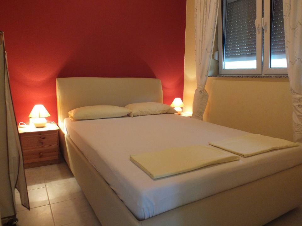 Schlafzimmer der Ferienwohnung Vanessa \