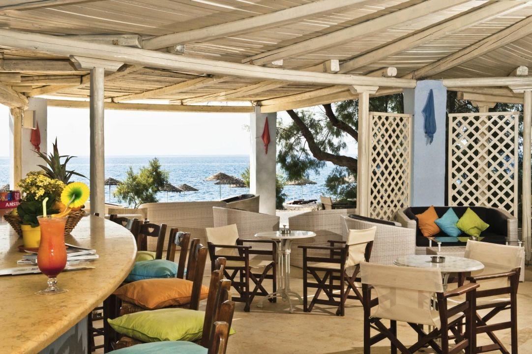 Pool Bar mit Meerblick Hotel Atlantis Beach Villa