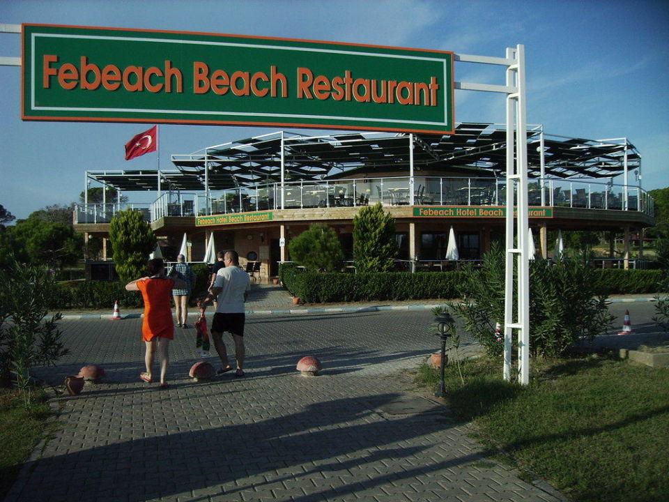 Das Fishrestaurant am Strand Innvista Hotels Belek