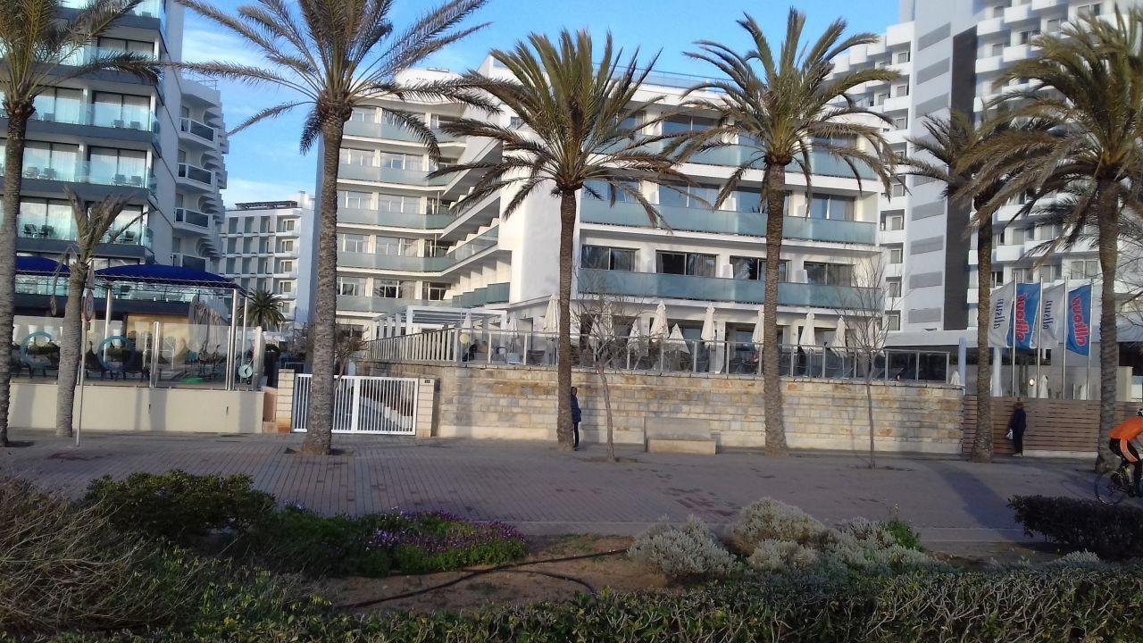 Aussenansicht Allsun Hotel Riviera Playa Platja De Palma Playa De