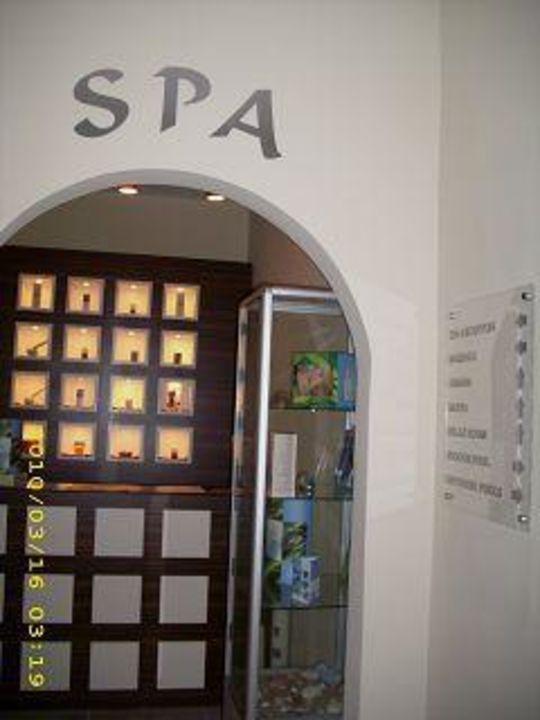 Eingang zum Spa-Bereich Hotel Grifid Arabella