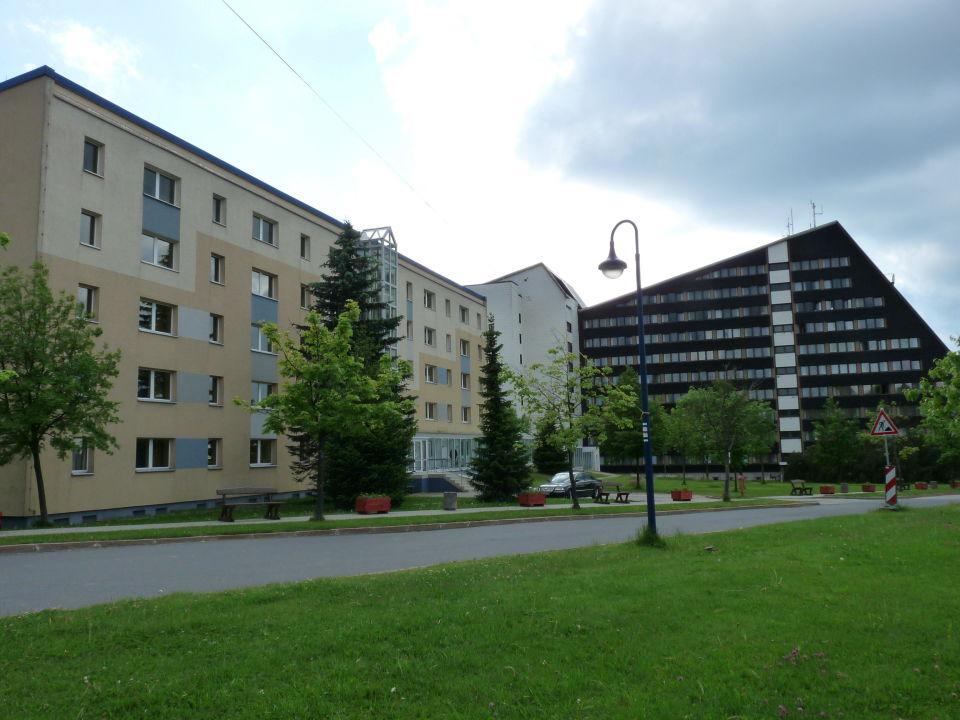 Start & Ziel Kletterwald/Hochseilgarten IFA Schöneck Hotel & Ferienpark