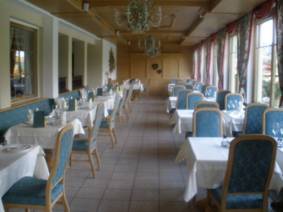 Speisesaal Romantik Hotel der Wiesenhof