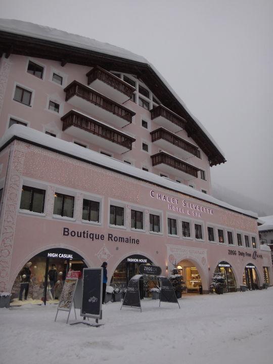 Außenansicht Silvretta Hotel & Spa