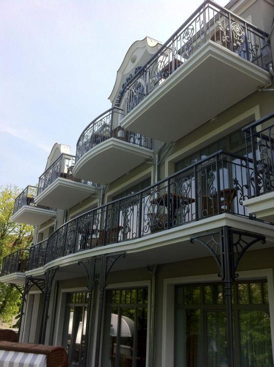 Neue Balkone, meerseitig gelegen Europa Hotel Kühlungsborn