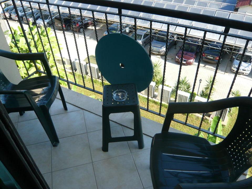 Balkonausstattung Nashira Resort Hotel & AQUA-SPA