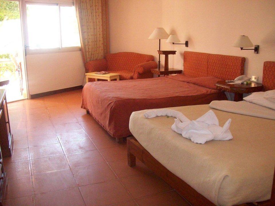 Unser Superior-Zimmer Festival Shedwan Golden Beach Resort (Vorgänger-Hotel - existiert nicht mehr)