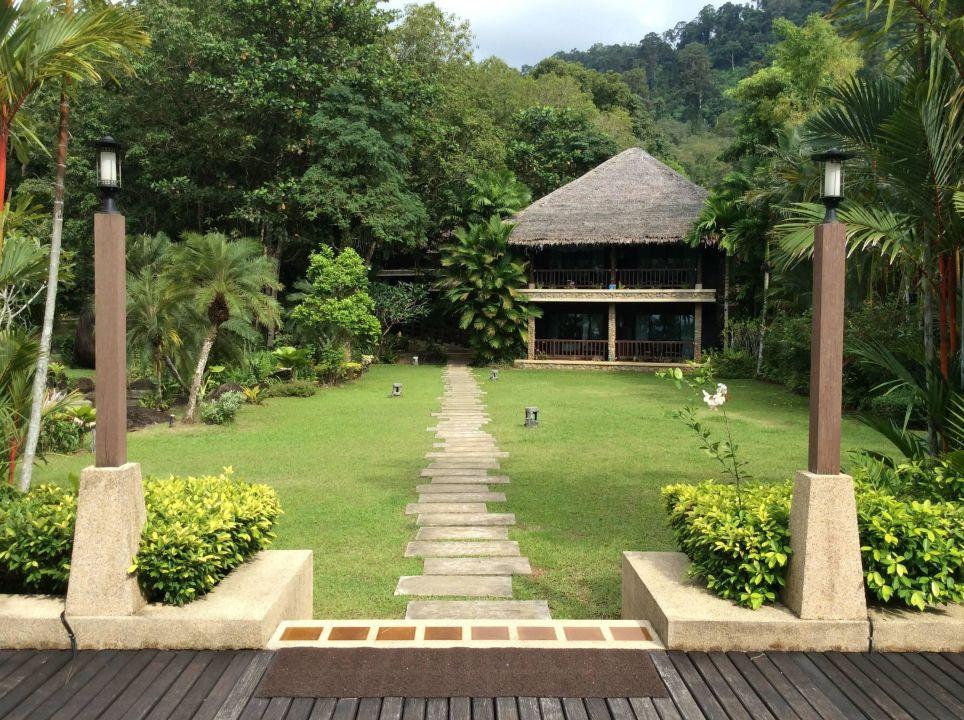 Bild ein sehr ruhiger pool zu khaolak paradise resort in for Garten pool 4m