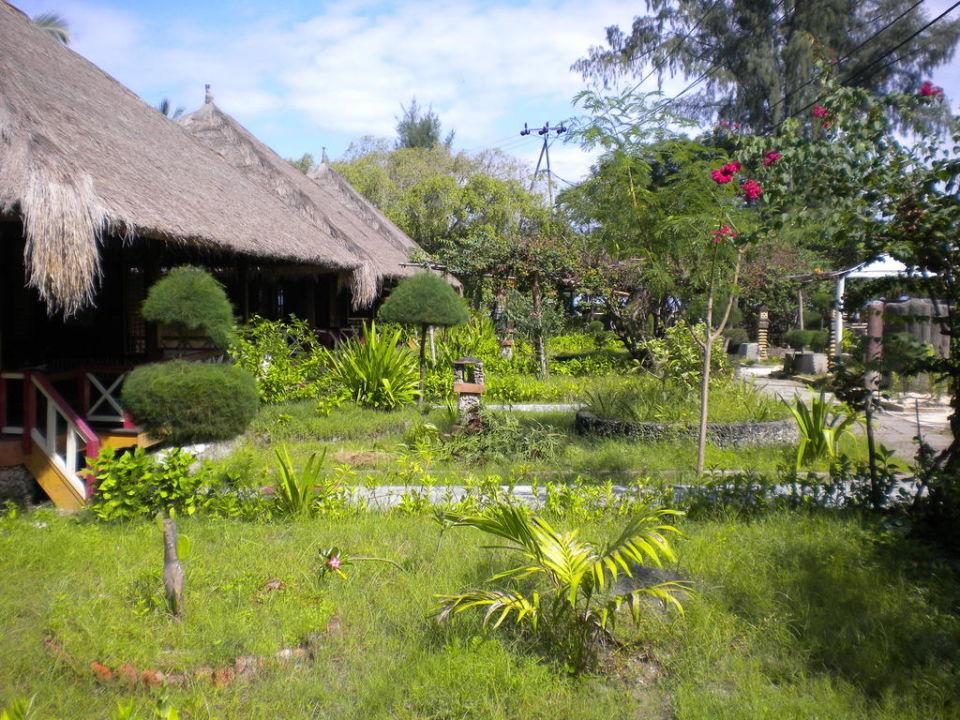 Garten und Bungalows Gili Air Hotel