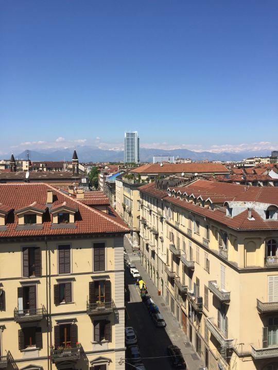Ausblick Turin Palace Hotel