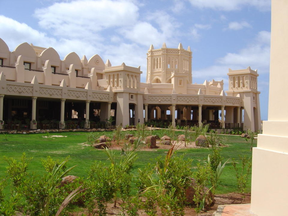 Gartenbereich Hotel Riu Touareg