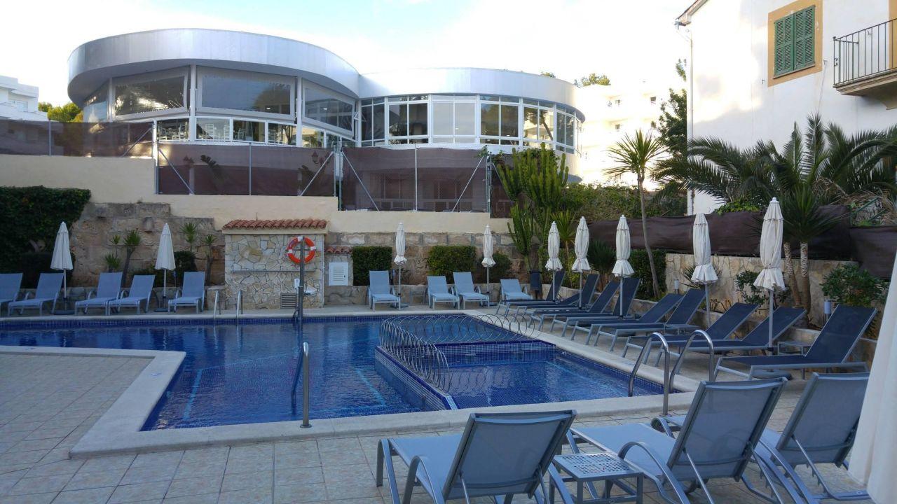 Kleine poolanlage aber gepflegt bq paguera boutique for Kleine boutique hotels