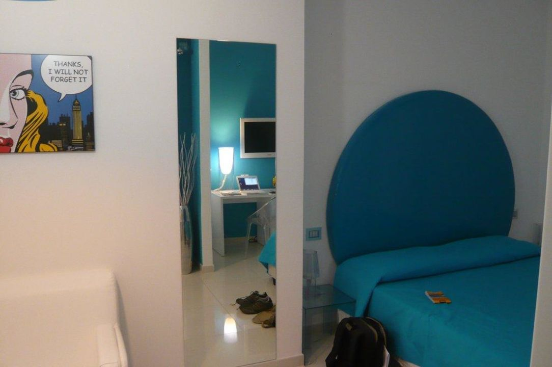 Das türkise Zimmer Hotel Palazzo Abagnale Sorrento