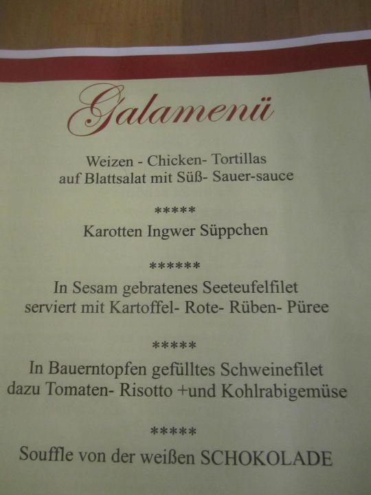 Ein mal in der Woche ein Menue dieser Art, fantastisch! Hotel Alpenhof