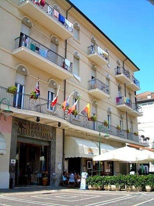 Wejście Hotel Stella D' Italia